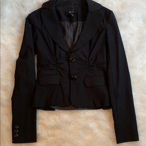 Fitted Black Blazer- S